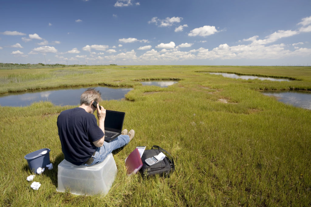 Portable Office Outdoors